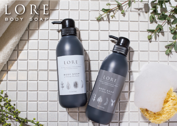 LORE body soap new brand debut! February 15,2016